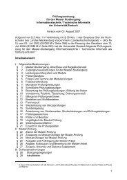 1 Prüfungsordnung für den Master Studiengang Informationstechnik ...