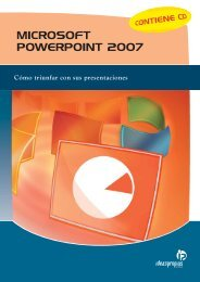 MICROSOFT POWERPOINT 2007 - Ideaspropias Editorial