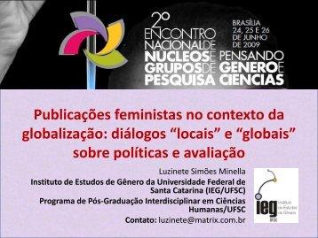 Publicações feministas - Instituto de Estudos de Gênero ...
