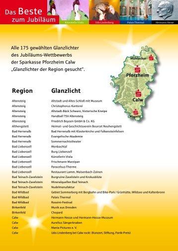 zum Jubiläum Das Beste - Sparkasse Pforzheim Calw - Blog