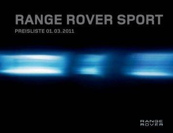 RANGE ROVER SPORT - Auto Stahl