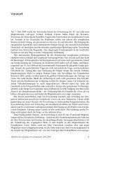 Vorwort Jahrbuch 2003/2004 - Institut für Europäische Politik [IEP]