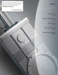 Valves Varian, Inc. Vacuum Technologies - Ideal Vacuum Products