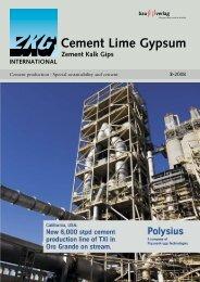 Cement Lime Gypsum