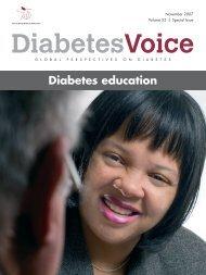 Diabetes education - International Diabetes Federation