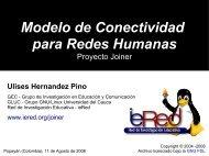 Modelo de Conectividad - ieRed