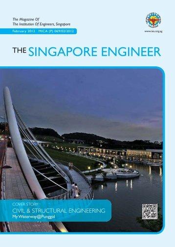 THE SINGAPORE ENGINEER - Institution of Engineers Singapore