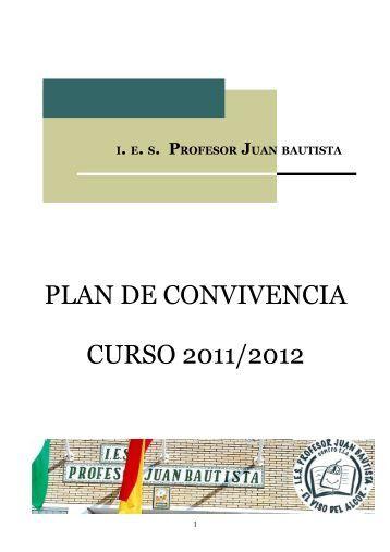 Plan de Convivencia - IES Profesor Juan Bautista