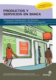 PRODUCTOS Y SERVICIOS EN BANCA - Ideaspropias Editorial