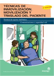 técnicas de inmovilización, movilización y traslado del paciente