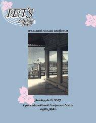 2007 Program Book.indd - International Embryo Transfer Society