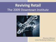 Reviving Retail