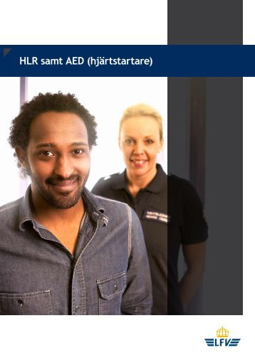 HLR samt AED (hjärtstartare)
