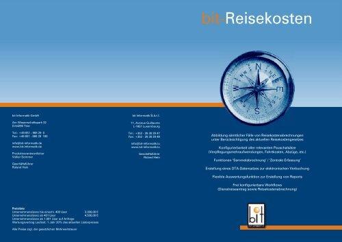 bit-Reisekosten - Bit Informatik GmbH