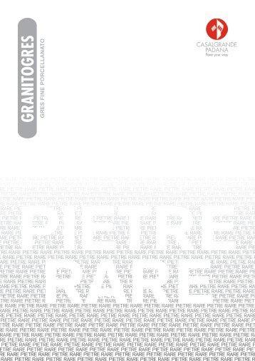 Granitogres Pietre Rare 2010