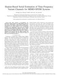 Slepian-Based Serial Estimation of Time-Frequency Variant ... - NTNU