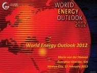 World Energy Outlook 2012 - IEA
