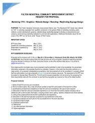 RFP-- Marketing / P.R. / Graphics / Website Design / Branding