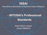 INTOSAI Presentation - IFAC