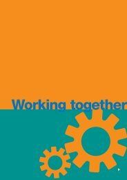 F. Working together - IFAD