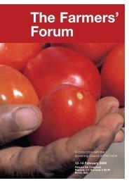 The Farmers' Forum - IFAD