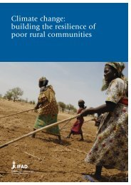 Climate change: building the resilience of poor rural ... - IFAD