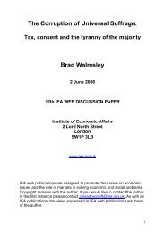 download full publication - Institute of Economic Affairs
