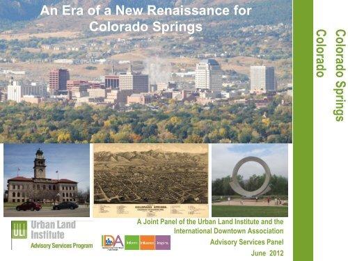 An Era of a New Renaissance for Colorado - International ...