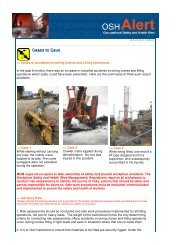 Series of Accidents involving Cranes and Lifting Operations In the ...