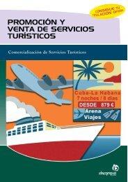 promoción y venta de servicios turísticos - Ideaspropias Editorial