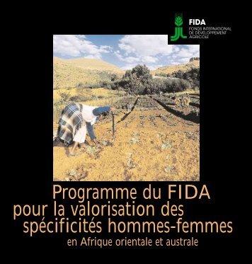 étude-diagnostic de terrain OUGANDA - IFAD
