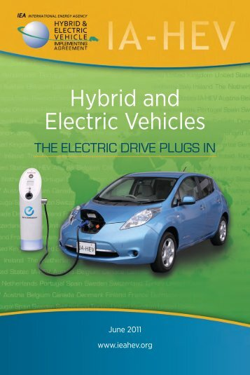 hybrid and electric vehicles in IA-HEV