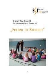 Auswertung 2011 - Bremer Sportjugend