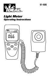 Light Meter - Ideal Industries Inc.