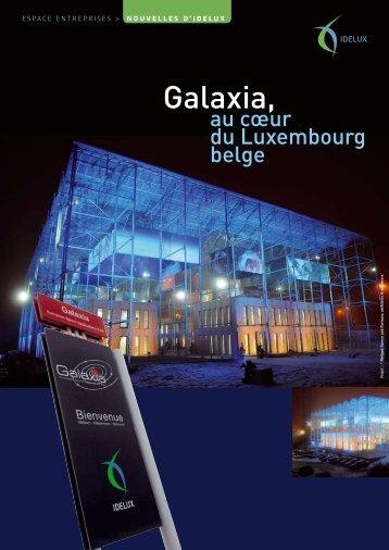 Galaxia, au coeur du Luxembourg belge (PDF) - Idelux