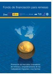 Fondo de financiación para remesas - IFAD