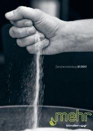 Zwischenmitteilung Q1/2012 - Binder+Co