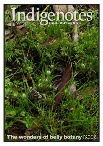 Indigenotes - Indigenous Flora and Fauna Association