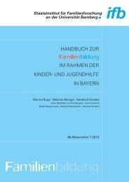 Handbuch Familienbildung - ifb - Bayern
