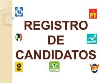Registro de Candidatos - Instituto Electoral del Distrito Federal