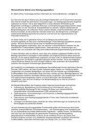 Wirtschaftlicher Betrieb einer Beteiligungsplattform Dr. Martin ... - ifib