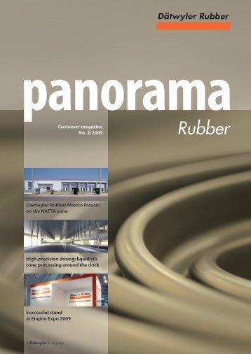 Customer magazine No. 2/2009 High-precision ... - Datwyler Rubber
