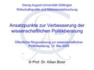 Download Power-Point-Präsentation Prof. Dr. Bizer - Georg-August ...
