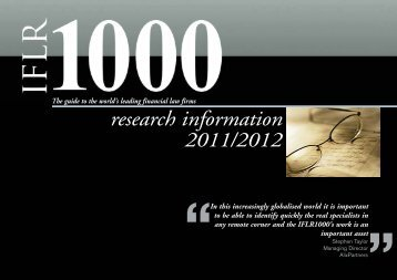 research pack - IFLR1000