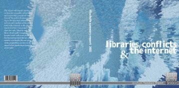 IFLA/FAIFE Summary Report 2002