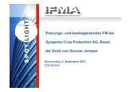 Privater Bauherr - IFMA Schweiz