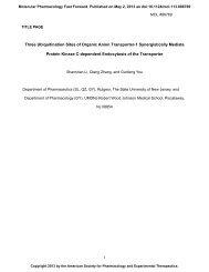 1 Three Ubiquitination Sites of Organic Anion Transporter-1 ...