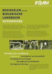 BEGINSELEN van de BIOLOGISCHE LANDBOUW ... - ifoam