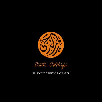 Badr Adduja online catalogue - Badr Ad Duja for Arts and Crafts