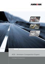 ACE - Ammann Compaction Expert - Ammann Group